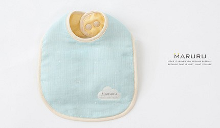 2021彌月禮物推薦日本嬰兒用品10選新生寶寶最合用餵食必備日本六層紗MARURU口水巾的實物