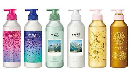 日本必買洗髮精推薦PYUAN洗髮精PYUAN好用洗頭水推介純漾0矽靈玩美髮香遇洗髮精