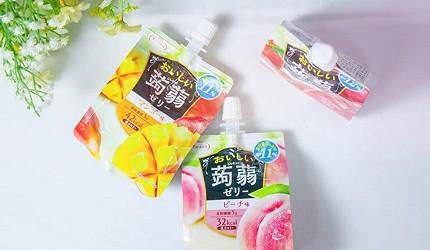 日本低卡零食推薦10款吃不胖的小食高纖健康又好吃必吃必買Tarami蒟蒻果凍飲