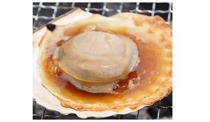 日本北海道最北端的地区稚内市宗谷的地方限定极品超鲜甜帆立贝