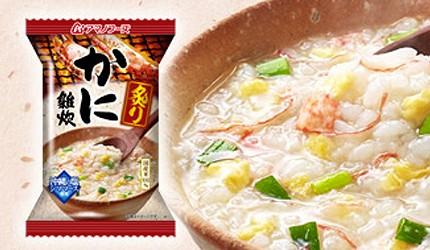日本必買沖泡飲品推薦天野實業海鮮雜炊沖泡粥