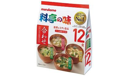 日本必買沖泡飲品推薦marukome料亭之味味噌湯