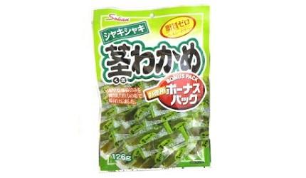 日本低卡零食推薦10款吃不胖的小食高纖健康又好吃必吃必買Sokan厚切裙帶菜乾厚切海藻蒟蒻乾