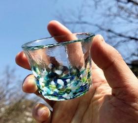 青森必買津輕琉璃夢幻玻璃杯四季玻璃杯禮盒