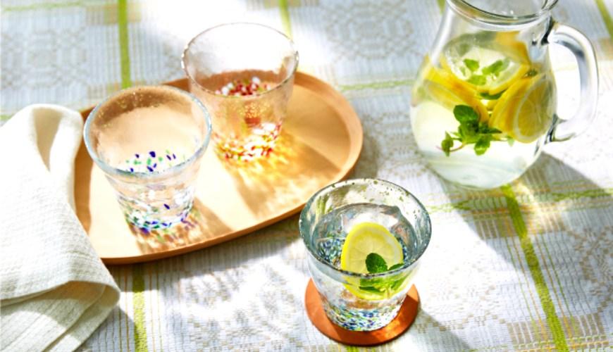 青森必買津輕琉璃夢幻玻璃杯日本星巴克琉璃杯就是這牌