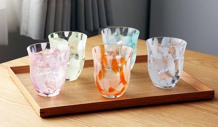 青森必買津輕琉璃夢幻玻璃杯