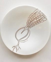 日本陶瓷餐具推薦推介SIONE質感弦月對杯夢幻精緻碗盤送禮首選結婚賀禮日系餐具陶瓷藝術的陶瓷之書京野菜系列聖護院蘿蔔