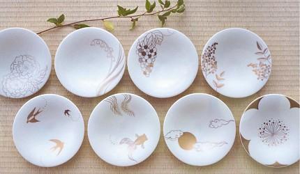 日本陶瓷餐具推薦推介SIONE質感弦月對杯夢幻精緻碗盤送禮首選結婚賀禮日系餐具陶瓷藝術的盤子系列