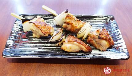台北和民居食屋居酒屋美食必點桂丁雞肉串