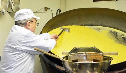 日本伴手禮推薦新潟浮星糖果製作過程