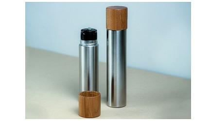日本保溫瓶推薦mokuneji的tsutsu木頭保溫瓶隨行杯