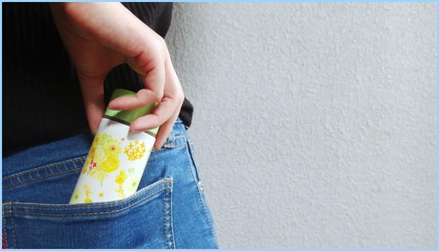 日本迷你口袋輕巧保溫瓶推薦