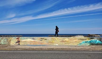 鸟取景点推御来屋渔港涂鸦艺术村