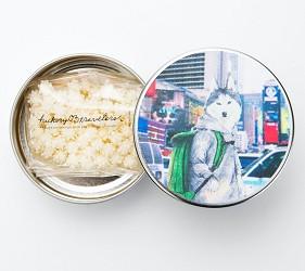 日本伴手禮推薦新潟浮星糖果罐裝小林純子系列