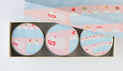 日本伴手禮推薦新潟浮星糖果罐裝插畫家永井李奈系列