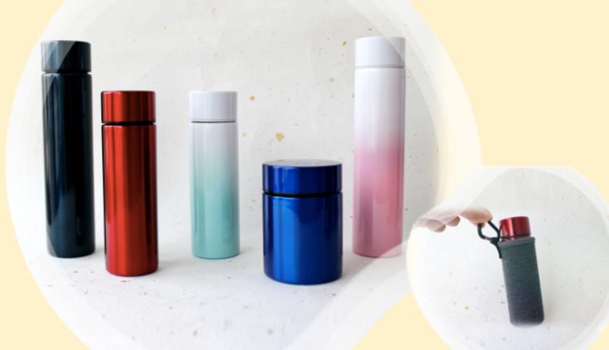 迷你保溫瓶推薦日本sfit200ml140ml250ml最小保溫瓶保溫壺保溫杯保溫杯套保護套輕巧可愛輕便不鏽鋼真空保溫6小時首圖