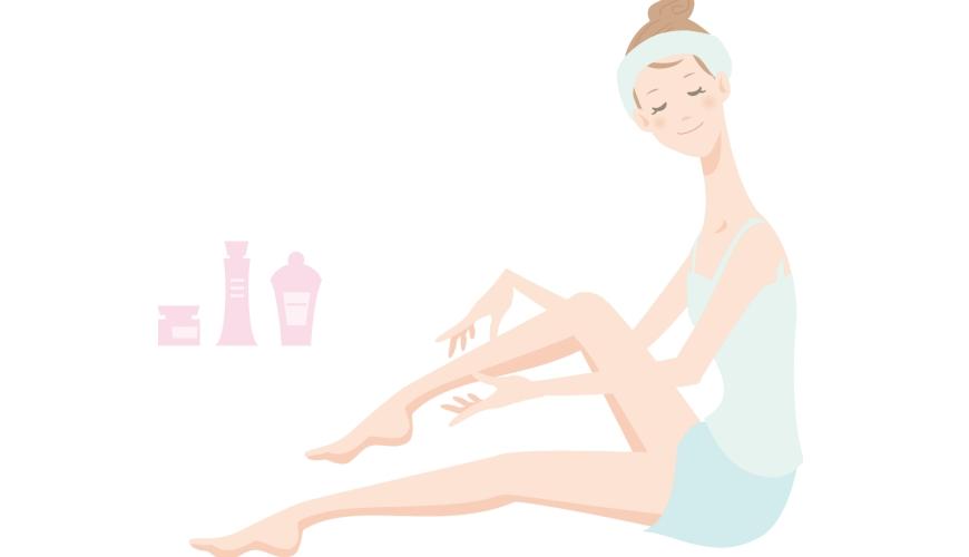 使用日本必買藥妝乳液保濕肥皂推薦推介益生菌保養品4合1精華乳液的女人繪圖