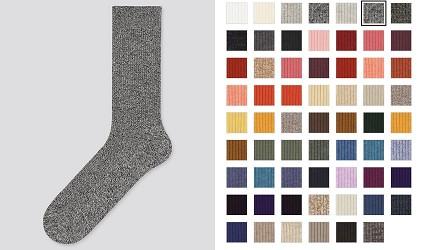 除臭襪推薦推介50種顏色任君選擇uniqlo50色素面單色襪