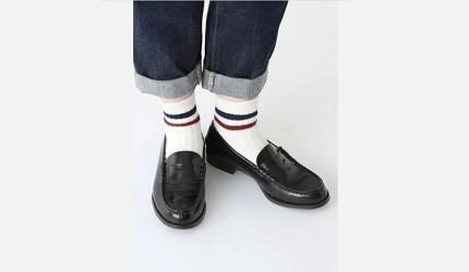 除臭襪推薦推介日本最舒服的襪子品牌靴下屋街頭運動風條紋棉短襪