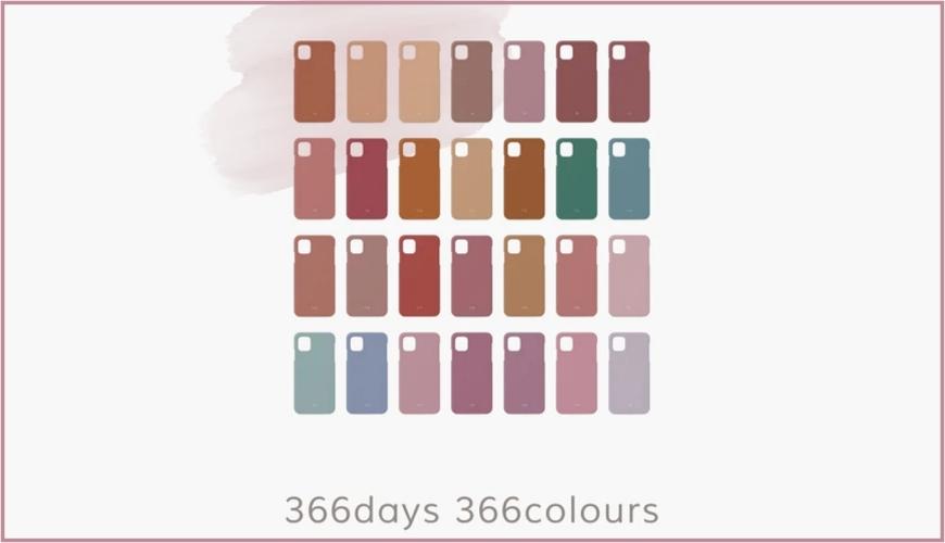 日本Birth.366誕生色手機殼客製出專屬於你的顏色iPhone、Android都適用首圖