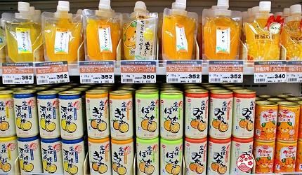 愛媛必買伴手禮柑橘果汁果凍飲