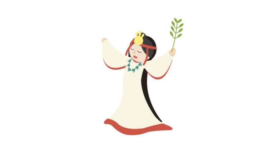 日語漢字「生贄」中文意思犧牲、活人獻祭示意圖