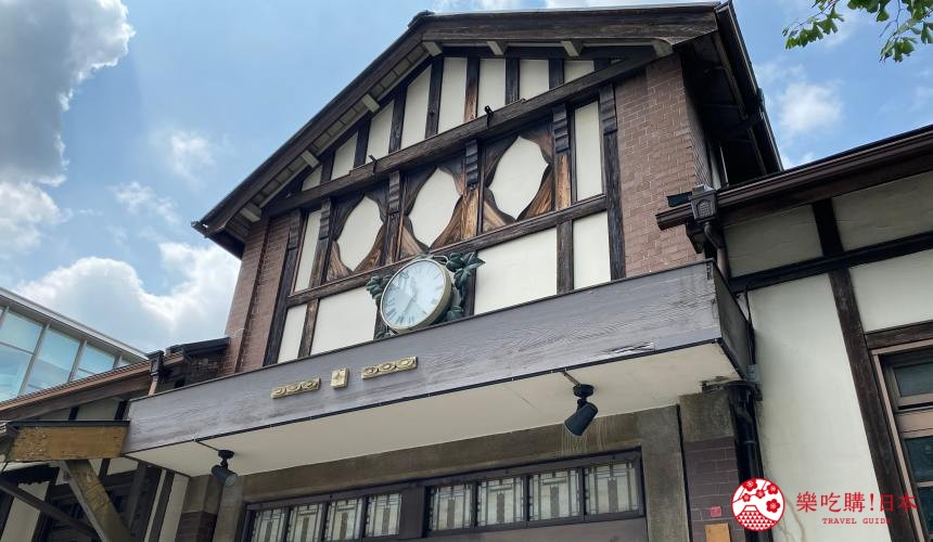 东京旧原宿车站外观近照