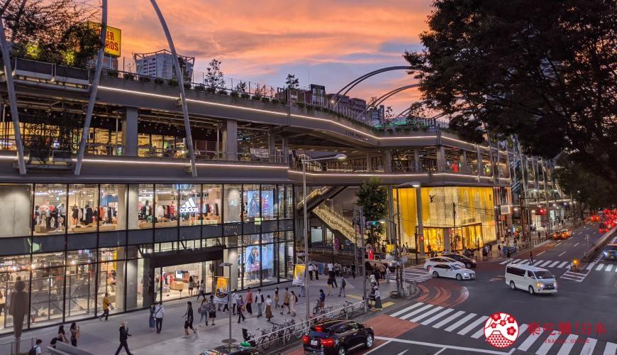 涩谷原宿地标「宫下公园」