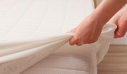 宜得利接觸涼感床單墊床包推薦推介商品圖