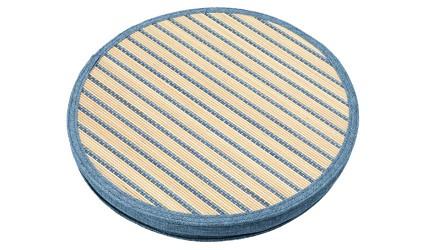 居家辦公室坐墊推薦推介天然草編涼感坐墊