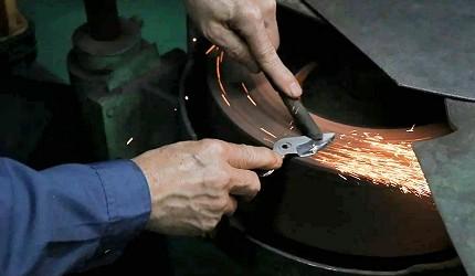 日本必買園藝剪修枝剪手工打磨秀久剪定鋏銳利省力超好用剪刀製作過程