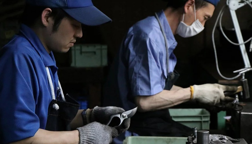 日本必買園藝剪刀手工打磨秀久剪定鋏銳利省力超好用剪刀