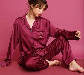 睡衣推薦推介男女睡衣套裝日系可愛日本居家服品牌aimerfeel胸前口袋繡有A字樣
