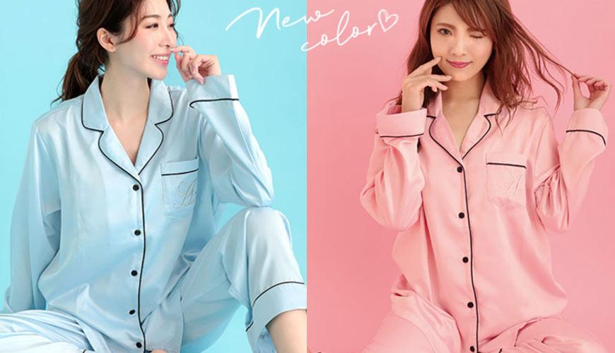 睡衣推薦推介男女睡衣套裝日系可愛日本居家服品牌都會氣質滿點的aimerfeel