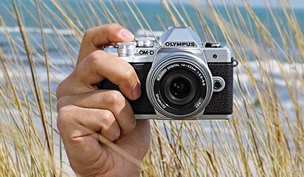 日本單眼相機單反微單推薦Olympus-OM-D-E-M10-Mark III
