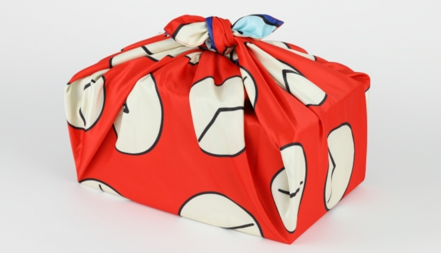 《哆啦A夢》道具日語之時光包巾「タイムふろしき」形象圖