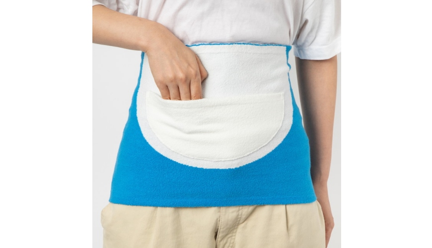 《哆啦A夢》道具日語之百寶袋「四次元ポケット」形象圖