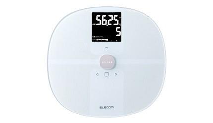日本體脂計體脂肪計推薦ELECOM體重體脂計HCS-WFS01