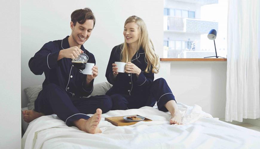 睡衣推薦推介男女睡衣套裝日系可愛日本居家服品牌GOOD NIGHT SUIT新婚禮物情侶睡衣首選