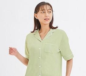 睡衣推薦推介男女睡衣套裝日系可愛日本居家服品牌GU蘆薈睡衣