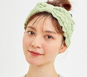 睡衣推薦推介日系甜美可愛居家服品牌GU蘆薈睡衣連髮帶一起購買造型更加分