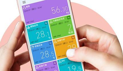 日本體脂計體脂肪計推薦wifi功能藍牙連結功能