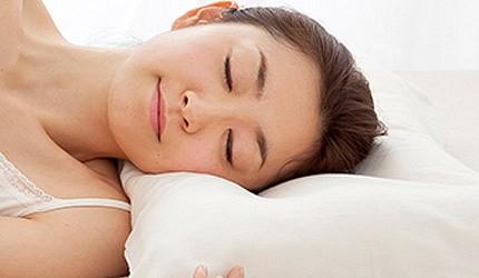 日本枕頭推薦側睡示意圖
