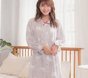 睡衣推薦推介男女睡衣套裝日系可愛日本居家服品牌Kanaii Boom有許多洋裝款式睡衣可以挑