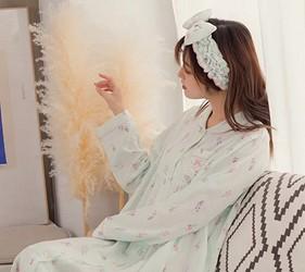 睡衣推薦推介男女睡衣套裝日系可愛日本居家服品牌Kanaii Boom同設計的髮帶