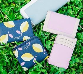 皮夾錢包品牌推薦推介顏色日系甜美小資女送禮必買手機也可以放進去的拉鍊長夾紐約時尚品牌kate spade商品