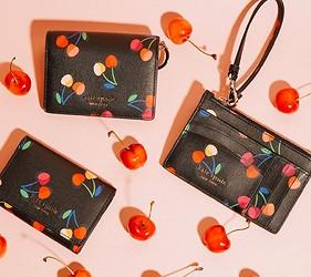 皮夾錢包品牌推薦推介顏色日系甜美小資女送禮必買手機也可以放進去的拉鍊長夾紐約時尚品牌kate spade以鮮豔色彩和帶有都會氣息的設計聞名