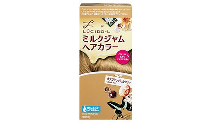 DIY染发必买染发剂推荐推介乐丝朵-L牛奶果酱染发剂