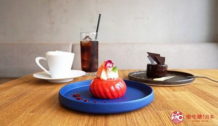 大阪自由行近郊一日遊行程推薦推介天王寺10分鐘直達松原市在地人大推洋菓子甜品店Savory amami販售的草莓胭脂紅蛋糕巧克力蛋糕
