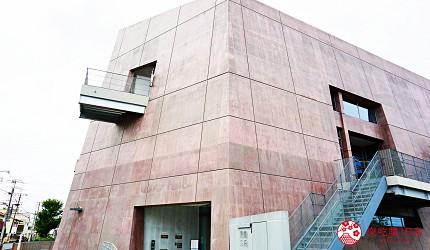 大阪自由行近郊一日遊行程推薦推介天王寺10分鐘直達松原市松原圖書館採現代化建築的設計風外觀